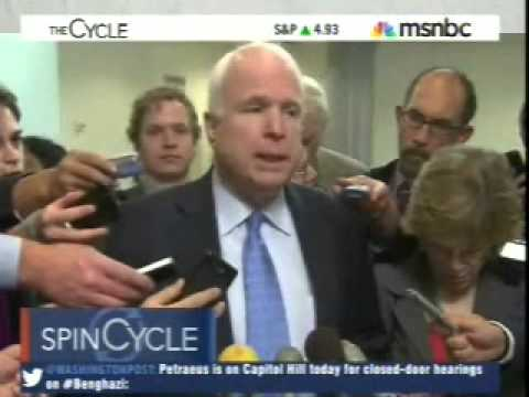 John McCain the Vengeful...  Funny The Cycle segment 11-16-12