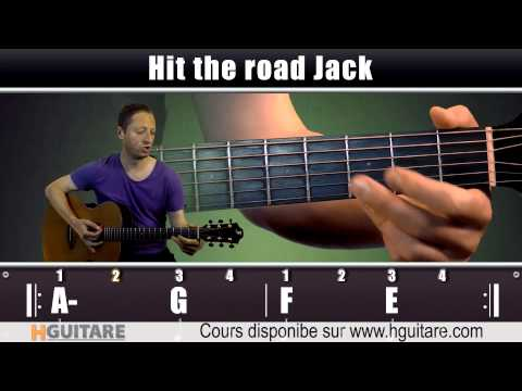 Cours De Guitare: Ray Charles - Hit The Road Jack (Teaser)