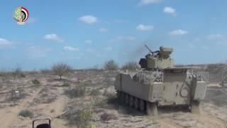 وزارة الدفاع تنشر فيديو لعمليات مداهمة أوكار الإرهابيين بشمال سيناء