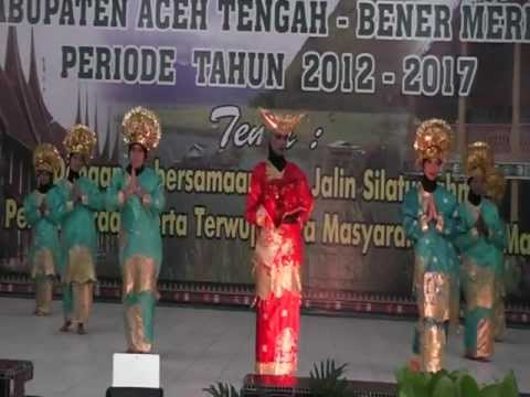 Tari Pasambahan. video