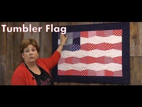 The Tumbler Flag Quilt