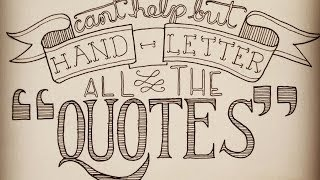 Hand Lettering Step By Step
