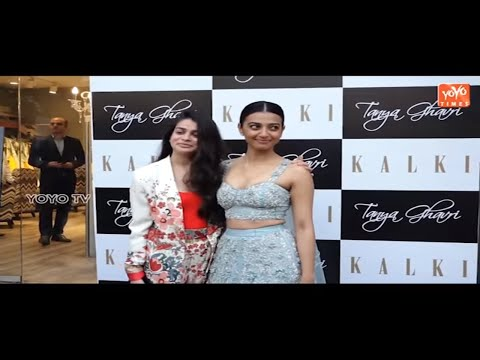 Radhika Apte At Preview Of Kalki's Latest Collection With Stylist Tanya Ghavri | YOYO Times