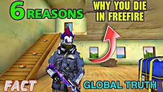 6 Reason Why You Die in Freefire || NOOB VS PRO || #Tipsandtricks