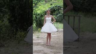 Princess Wedding Dress - Chic & Modern Little White Dress Knee-length/Gowns by LightInTheBox