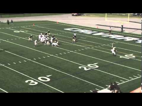 Tristan Peyton #40 LB- 2012 Sophomore Highlights - Calvary Christian Academy (6'0 185 lbs)