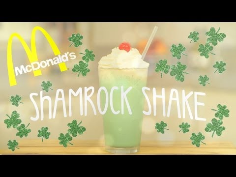 Homemade Shamrock Shake | Get The Dish