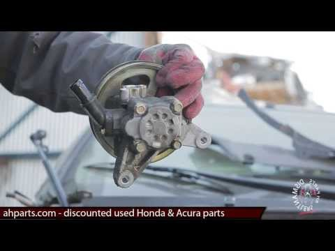 How to replace 2003 2004 2005 2006 2007 Honda Accord Power Steering Pump REPLACEMENT INSTALL