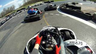 How to get kicked out of a go-kart race!