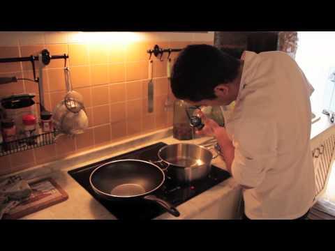 Félix Dias - costeletas de cabrito em cama de tortulhos, espargos e batatas
