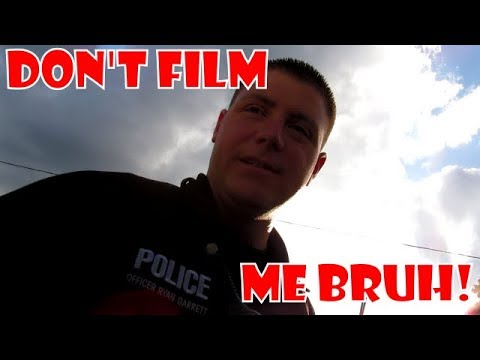 Follow-up: Police hate photography