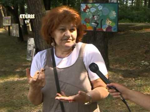 """ETERIS TV 2012.06.12 Birštono meno mokyklos suaugusiųjų dailės darbų paroda """"Tarp pušų"""""""