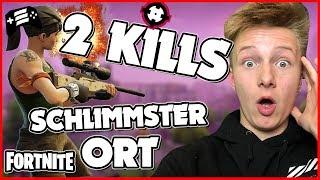 Schlimmster Ort - ABER 2 KILLS 💪 Fortnite Let's Play - Echtso Gaming
