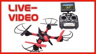 FPV Quadrocopter Drohne Mit Kamera, Sky Hawkeye 1315S - Test Bedienungsanleitung