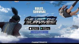 Como baixar, instalar e criar uma conta no Rules Of Survival(PARA PC