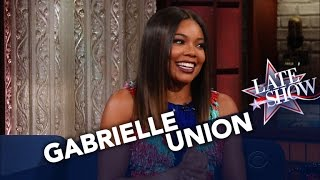 Gabrielle Union Cried Watching Obama