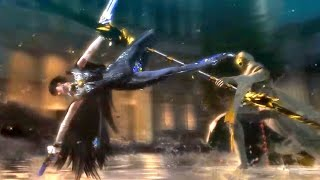 Dark Witch vs White Mage: Epic Fight. Cereza and Lumen Sage (Bayonetta 2)