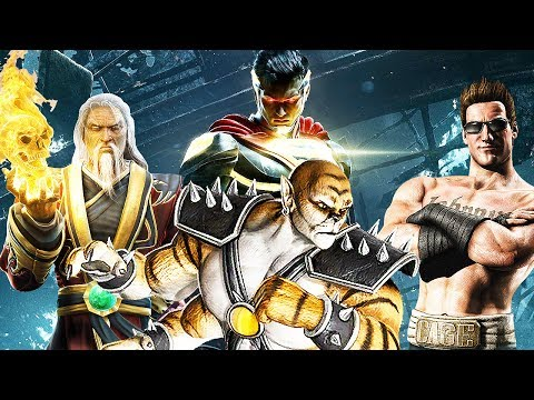 INJUSTICE 2 Sub Zero All Mortal Kombat Easter Eggs References Intros