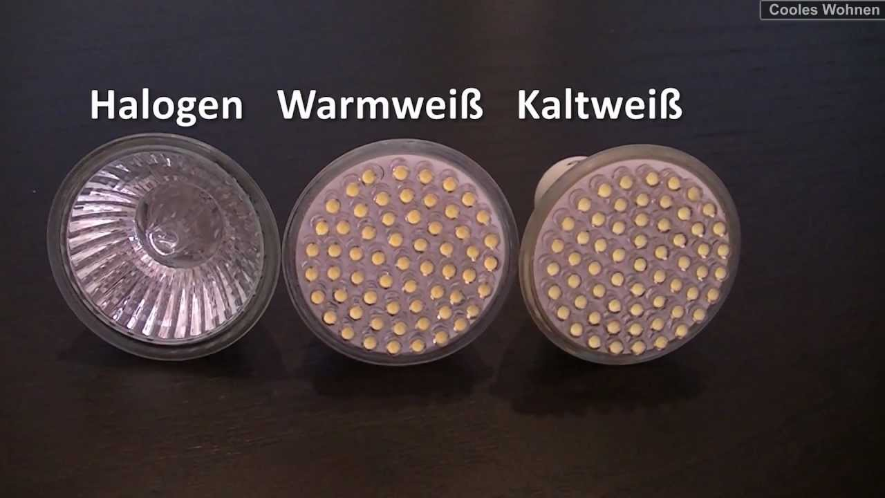 3w led versus 20w halogen der test gu10 spot strahler. Black Bedroom Furniture Sets. Home Design Ideas