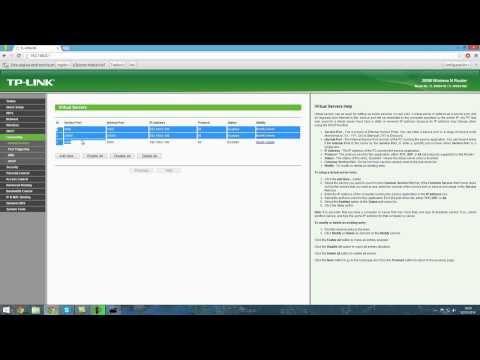 Como abrir puertos para routers TP-link