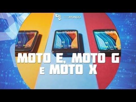 Comparação: as diferenças entre Moto E, Moto G e Moto X - TecMundo