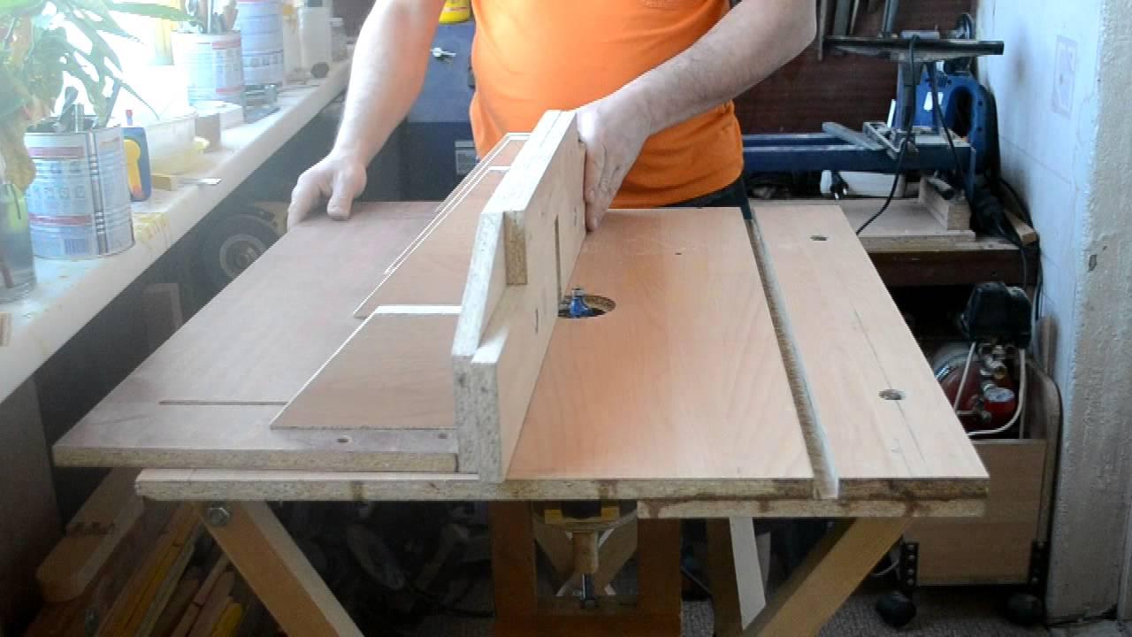 Стол для ручного фрезера своими руками с чертежами 3