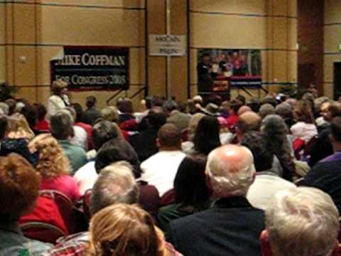 McCain Republican Rally in Denver, Colorado