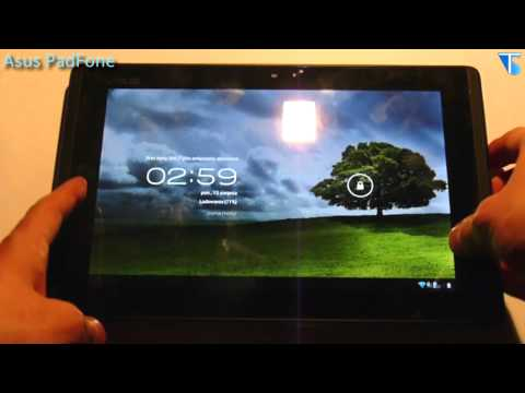 Asus PadFone - Przegląd wideo i Hands on (PadFone Station & Station Dock - test)