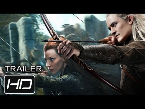El Hobbit: La Desolación de Smaug - Trailer 2 Subtitulado Latino - HD