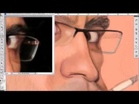 Caricature Speed Digital Painting tutorial