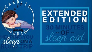 ASMR Roleplay: Helping you sleep on a road trip - EXTENDED EDITION [30 minutes of Sleep Aid]
