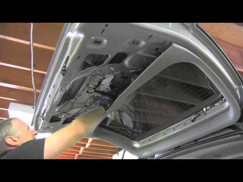 rear door hatch lock repair GMC Chevrolet
