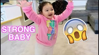 STRONGEST 1 YEAR OLD BABY IN THE WORLD!!!