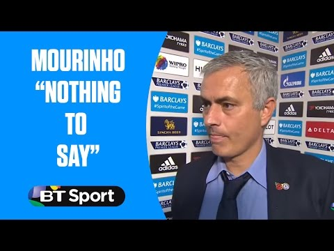 """Jose Mourinho has """"nothing to say"""" after Chelsea are beaten 3-1 by Liverpool"""