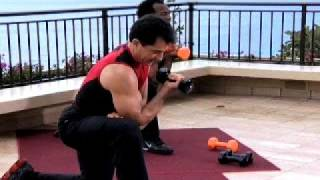 Body Challenge 2008 - Gilad Arms Workout
