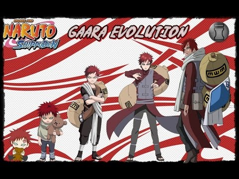 Characters Evolution Naruto Characters Evolution