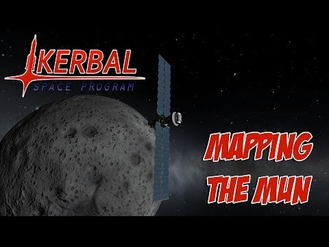 Kerbal Space Program - Mapping The Mun
