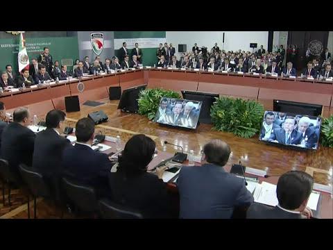 37 Sesión del Consejo Nacional de Seguridad Pública