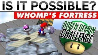 GREEN DEMON CHALLENGE #2 | Is It Possible? (SM64)