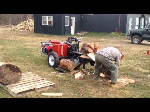 BUILT-RITE 24 HPWS WOOD SPLITTER with LOG LIFT