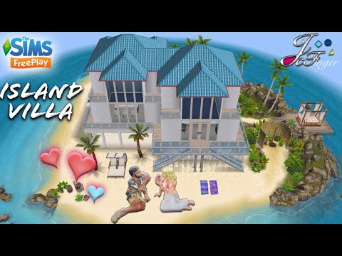 The Sims FreePlay 🌴| ISLAND VILLA |🌊 By Joy.