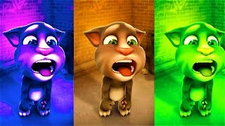 Baby learn Colors and Play Talking Tom Colours, Kids Fun Color Animation