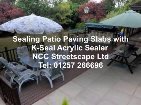 Patio Sealer Application for Protection Against Frost and ...