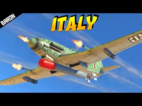 ITALIAN PLANES! Italy is Coming! (War Thunder 1.69 Update - War Thunder Gameplay)