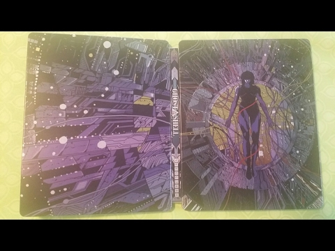 Anime Unboxing: Ghost In The Shell Blu-ray Steelbook (2017)