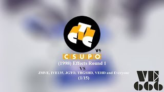 STS Csupo V4 (1998) Effects Round 1 vs JMVE, IVE135, JGTO, TBGSHD, VEHD and Everyone (1⁄15)