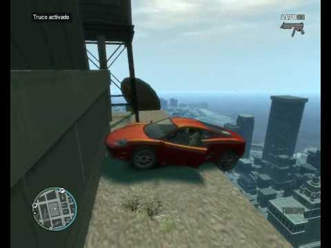 Gta 4 pc-Caidas, golpes y accidentes (parte 1)
