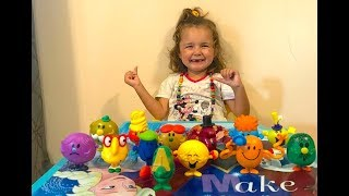 KID playing, finger family song, MC donald's toys collection, TEYA TV
