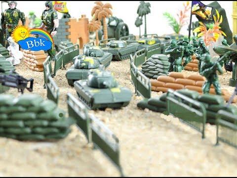 Домашние сражения игрушек ↑ Военные солдатики, нёрфы, машины ↑ Обзор игрушек
