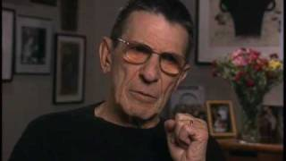 Leonard Nimoy on Spock's make-up on Star Trek - EMMYTVLEGENDS.ORG